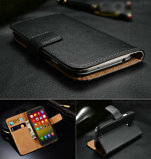 Genuine Real Leather Flip Wallet Case Cover For Xiaomi 2 2S 3 4 Hongmi Note