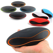 Mini Portable Rugby Wireless Bluetooth Speaker For iPhone iPod Samsung iPad New