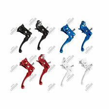 COPPIA LEVE FRENO 2 DITA MX FIXED SCATTO FISSO SINGLE SPEED BRAKE LEVERS