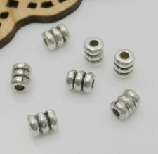 150/1000PCS Tibetan Silver Spacer Beads Fit Jewelry Making FREE Ship 5x4mm