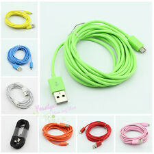 10ft Micro USB Data Sync Charger Cable Cord for Nokia HTC One X Evo LG Lumia