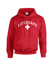 Life Guard Hooded Sweatshirt Lifeguard Logo