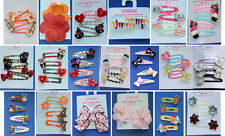 Gymboree Girls Hair Accessories Barrettes Metal Snap Clips 4 5 6 UPick NWT NWOT