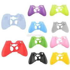 Silicone Rubber Protective Skin Case Cover for XBOX 360 Controller Game New D98