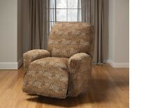 LEOPARD RECLINER COVER--ALSO COMES IN SOFA COUCH LOVESEAT CHAIR FUTON SLIPCOVERS