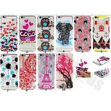 10pcs/lot Luxury Relief Paint Thin Light Soft TPU Gel Case Cover For Iphone Sony