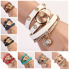 Fashion Lady Causal Watch Leather Analog Display Women Dress Watch Quartz Watch