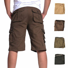 Fashion men's military cargo casual beach sport jeans summer men short trousers