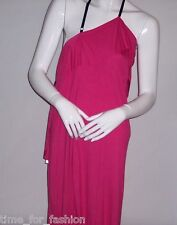 Smooth Soft Dress with Draped Ruffle Trim from PII by Poleci - Pink (XS, S, M)