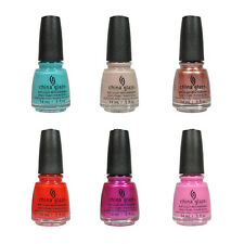 China Glaze Nail Polish Lacquer Desert Escape Collection 0.5floz/14ml