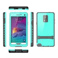 WATERPROOF/SHOCKPROOF/DIRT PROOF DIVE STAND CASE COVER For Samsung Galaxy Note 4