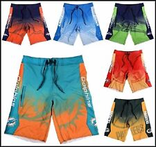 NFL Team Logo Mens Summer Board Shorts Swimsuit Swim Trunks - Pick Your Team!