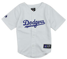 Majestic MLB Baseball Toddlers Los Angeles LA Dodgers Blank Home Replica Jersey