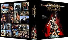 CONAN THE BARBARIAN Custom Photo Album 3-Ring Binder ARNOLD SCHWARZENEGGER