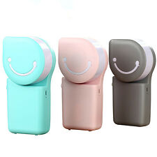 Portable USB Powered Mini Fan Desktop Air Conditioner Cooler Home Office Use