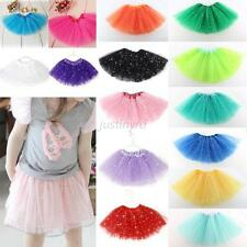 Baby Girl Child Tutu Skirt Star Sequin Princess Party Ballet Dance Dress Costume