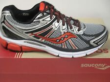 SAUCONY OMNI 13 (SIL/BLK/RED) MENS RUNNING