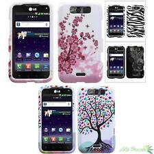Hard Phone Case Cover For LG LS840(Viper) MS840(Connect 4G) Various Image Design