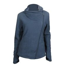 BENCH Cushty Damen Fleece Zip Jacke Plüschfutter midnight blau SALE