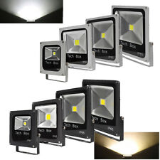 Lot Flat LED Floodlight 10W 20W 30W 50W Outdoor Garden Security Flood Light IP65