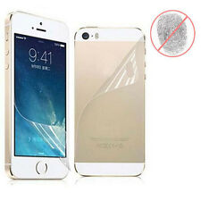 Front & Back Anti-Glare Matte Full Body Screen Protector For iPhone 5 5S 5G Lot