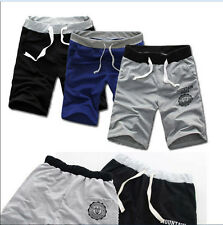Fashion Men Cotton Shorts Pants Gym Trousers Sport Jogging Trousers Casual