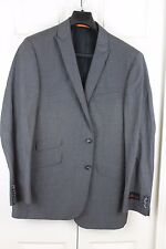 Ben Sherman Kings Slim Fit Style Gray Check Suit Coat Blazer NEW NWT's 42 44 46