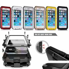 Water/Dirt/Shockproof Aluminum Glass Case Cover For iPhone6 6Plus iPhone5 5S 5C