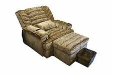 3pc Beige Fabric Electric Room Reclining Sofa Chair Cushion Home Furniture Set