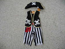 NEW Gymboree toddler boy Pirate Halloween Costume Hat Dress Up 6-12 months NWT