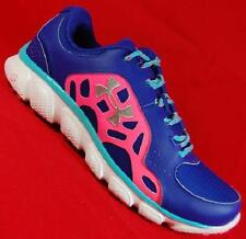 NEW Womens UNDER ARMOUR MICRO G ASSERT IV Blue Athletic Running Sneakers Shoes