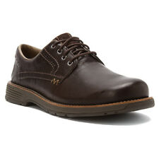 NIB!! MERRELL Mens Realm Lace Casual Oxford Shoes Espresso Brown Leather J42137