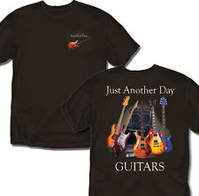 Just another Day Guitars - Brown -T-Shirt - Adult Sizes