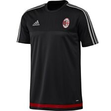 adidas AC Milan 2015-2016 Training Soccer Jersey Brand New Black / Red