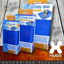 Hugs Chilly Mat Dog Cat Cooling Pad Bed Gel Vinyl Indoor Outdoor 3 Sizes M-L-XL
