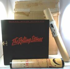 ROLLING STONES Collection 1984 MFSL Mobile Fidelity 11 LP Set + Poster & Carton