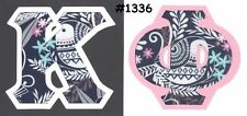 Any Sorority Fraternity A-Z Greek Letters IronOn NoSew Alpha~Omega phi chi pi xi