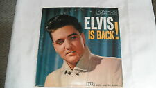 Elvis is back LP Record