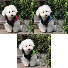 Small type / Large type Pet Dog Waterproof D- ring Vest Coat Apparel Size XS-XL