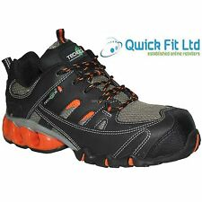 NEW MENS LEATHER WORK BOOTS LIGHTWEIGHT COMPOSITE TOE CAP SAFETY TRAINERS SHOES