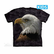 The Mountain Bald Eagle Portrait Big Face Stare Bird Youth Kids Tee T Shirt S-Xl