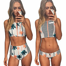 Sexy Womens Bandage Bikini Set Push-up Padded Bra Swimsuit Bathing Suit Swimwear