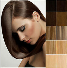 """15""""18""""20""""22"""" Clip In 100% Remy Human Hair Extensions Full Head Hair Extensions"""