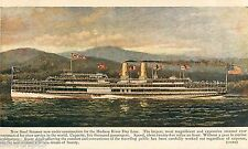 1905 Hudson River Day Line - Steamship Service Advertising Card