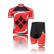 Cycling Jersey Cycle Short Sleeves Bicycle Shirt Bike Sport Jersey +(Bib) Shorts