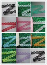 Wholesale unilateral smiley lace embroidery lace ribbon 10-400 yards