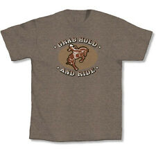Western Cowboy Cowgirl Kick Ride Horse Country Music Manure Barn  T-Shirt New