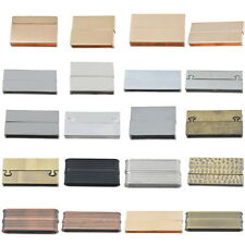 1Set Magnetic Clasp Flat Jewelry Making Supplies Rectangle Ribbed High Quality