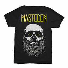 Mastodon Beard Admat Skull Face Rock Music Metal Mens T Tee Shirt Size S-2Xl
