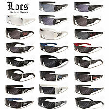 LOCS SUNGLASSES HARDCORE SHADES GLASSES OG GANGSTA AVIATOR WAYFARER GANGSTER